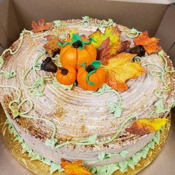 Custom Autumn Cake